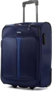 Granatowa walizka Lasocki