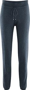 Granatowe spodnie amazon.de w sportowym stylu z wełny