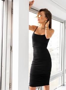Czarna sukienka SELFIEROOM hiszpanka