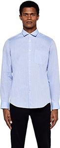 Niebieska koszula Meraki z długim rękawem