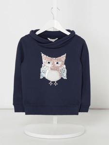 Granatowa bluza dziecięca Review For Kids z bawełny