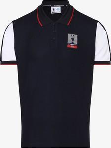 Granatowa koszulka polo North Sails z krótkim rękawem