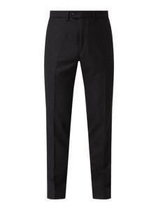 Czarne spodnie Brax z wełny