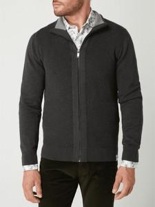 Sweter McNeal ze stójką z bawełny w stylu casual