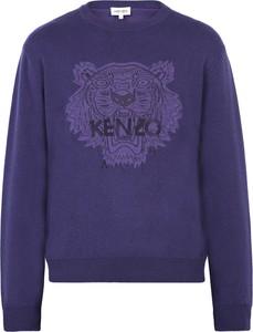 Fioletowy sweter Kenzo w młodzieżowym stylu