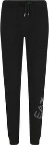 Czarne spodnie sportowe EA7 Emporio Armani