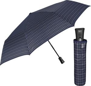 Parasol PERLETTI w stylu casual ze skóry ekologicznej