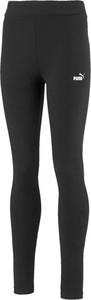Czarne legginsy dziecięce Puma