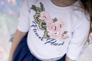 Bluzka dziecięca Małami z bawełny