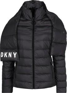 Czarna kurtka DKNY w stylu casual