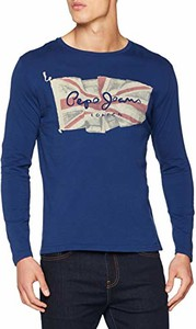 Koszulka z długim rękawem Pepe Jeans w młodzieżowym stylu z krótkim rękawem