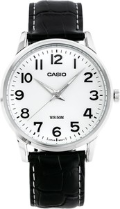 ZEGAREK MĘSKI CASIO MTP-1303L-7B (zd021e) - Czarny || Srebrny