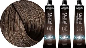 L'Oreal Paris Loreal Majirel Cool Cover | Zestaw: trwała farba do włosów o chłodnych odcieniach - kolor 6 ciemny blond 3x50ml - Wysyłka w 24H!