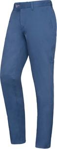 Niebieskie chinosy Lavard z tkaniny