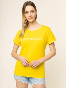 T-shirt Emporio Armani z krótkim rękawem z okrągłym dekoltem