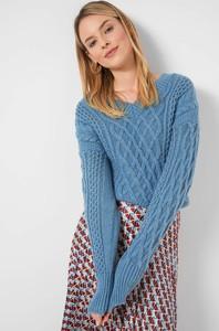 Niebieski sweter ORSAY w stylu casual