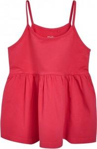 Różowa bluzka dziecięca Endo z dzianiny
