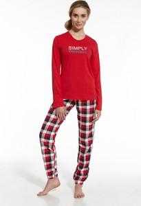 Czerwona piżama Cornette