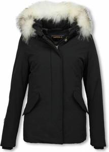 Czarna kurtka Matogla w stylu casual