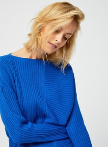 Niebieski sweter moodo.pl