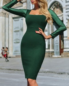 Sukienka Kendallme maxi dopasowana hiszpanka