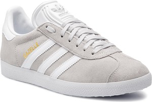 Trampki Adidas z zamszu w sportowym stylu sznurowane