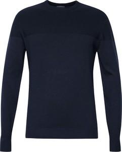 Granatowy sweter Esprit z kaszmiru