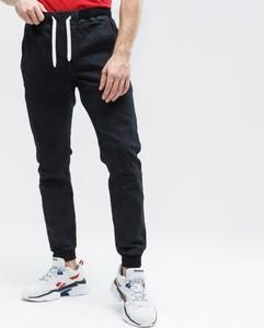 Czarne spodnie sportowe Up8