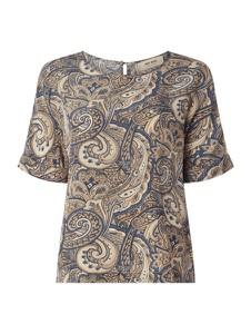 Bluzka Mos Mosh z krótkim rękawem z okrągłym dekoltem