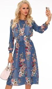 Sukienka MERRIBEL w stylu boho midi
