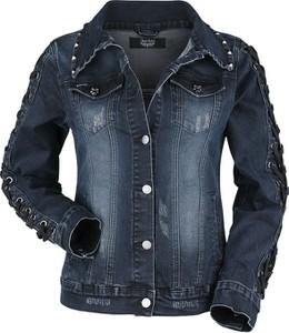 Niebieska kurtka Emp z jeansu krótka