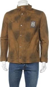 Brązowa kurtka Order Plus w stylu casual krótka