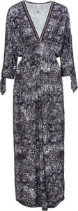 Sukienka bonprix BODYFLIRT boutique maxi z długim rękawem