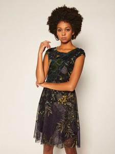 Sukienka Desigual z krótkim rękawem mini
