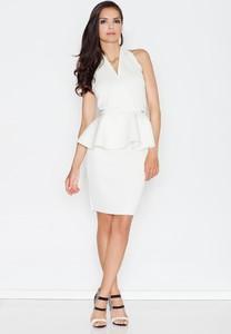 Sukienka Figl z dekoltem w kształcie litery v bez rękawów