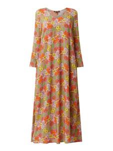 Sukienka Risy & Jerfs maxi z dekoltem w kształcie litery v z długim rękawem