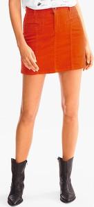 Spódnica YESSICA ze sztruksu mini