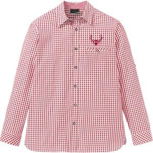 Czerwona koszula bonprix