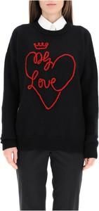 Czarny sweter Dolce & Gabbana w stylu casual