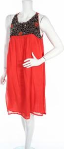 Czerwona sukienka NIZA mini