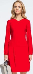 Sukienka Style dopasowana z długim rękawem w stylu casual