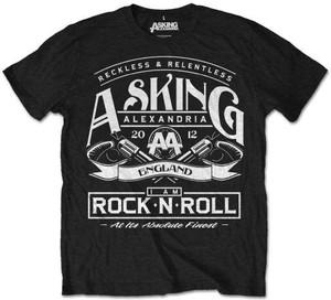 Czarny t-shirt Asking Alexandria