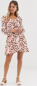 Sukienka Glamorous z dekoltem w kształcie litery v