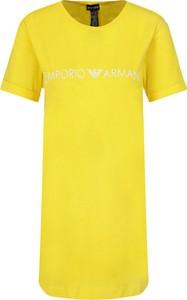 Sukienka Emporio Armani w stylu casual z krótkim rękawem