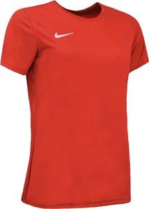 T-shirt Nike z bawełny z okrągłym dekoltem z krótkim rękawem