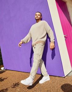 Brązowy sweter Asos