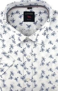 Koszula Laviino z nadrukiem z krótkim rękawem w młodzieżowym stylu