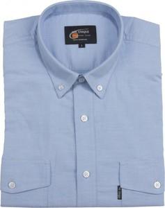 Niebieska koszula Mr.unique z bawełny
