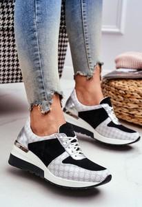 Buty sportowe Nicole z zamszu z płaską podeszwą