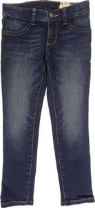 Niebieskie spodnie dziecięce Ralph Lauren z bawełny